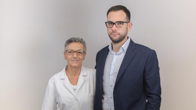 Dott.ssa Imma de Vicariis e Antonio Perrotta